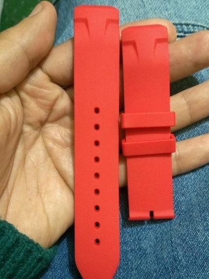 Correa Pulso Tissot T-race Touch Rojo Generico Vario Colores