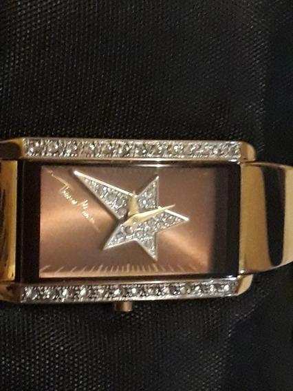 Relógio Original Thierry Mugler Ouro 14