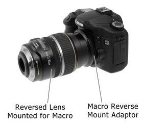 Adaptador Inversor 58mm