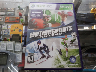 Motion Sports Play For Real Kinect Para Xbox 360