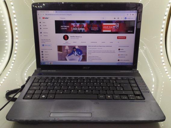Notebook Acer 4gb Ram - Funcionando Perfeitamente