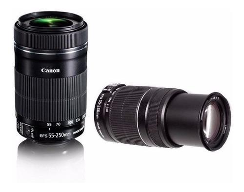 Imagem 1 de 7 de Lente Canon Ef-s 55-250mm F/4-5.6 Is Stm Revenda Autorizada