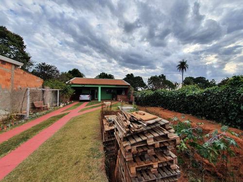 Imagem 1 de 15 de Chácara Com Casa Em Residencial Fechado - 1263