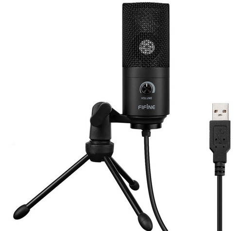 Microfono Usb Profesional Fifine Pc/ps4 - K669 Revogames