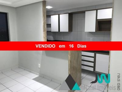 Venda De Apartamento Em Emaús, Todo Mobiliado E Na Divisa Com Natal - Ecopark - Ap00002 - 2520225