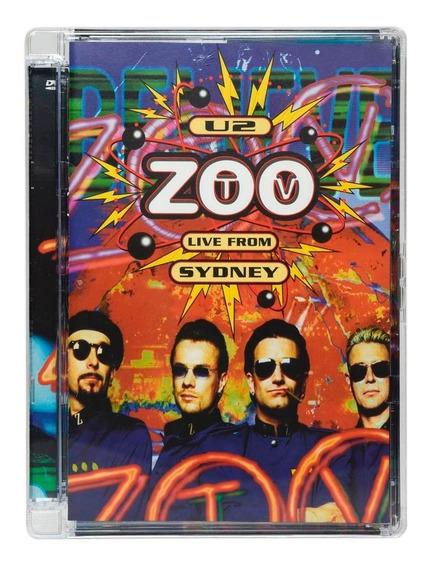 U2 Zoo Tv Live From Sydney Dvd Importado Dos Usa Lacrado Nov