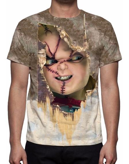 Camisa, Camiseta Chucky O Boneco Assassino