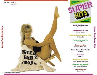 Cd Super Hits Jovem Pan 1989