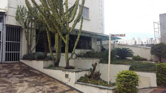 Apartamento Com 1 Dormitório Para Alugar, 50 M² Por R$ 650,00/mês - Vila Itapura - Campinas/sp - Ap16721