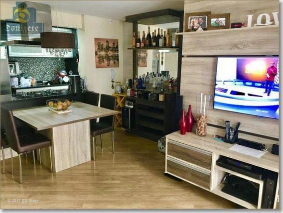 Apartamento Com 2 Dormitórios À Venda, 73 M² Por R$ 415.000,00 - Jardim - Santo André/sp - Ap3983