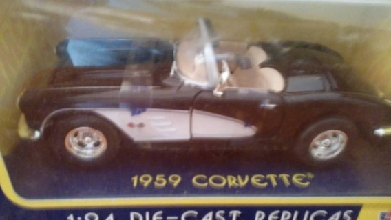 Corvette 1959 Coleccion Escala 1/24.