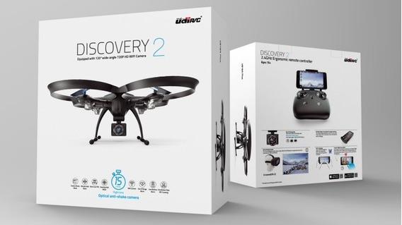 Drone Udirc Discovery2 U818a Plus Hd