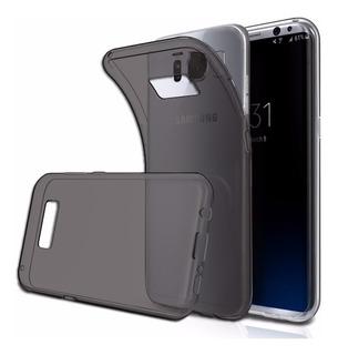 Capa Capinha Case Tpu Silicone Ultra Fina Galaxy S8 Grafite