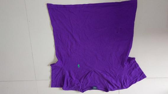 Remera Polo Original De Mujer, Talle Xl, Con Unos Agujeritos