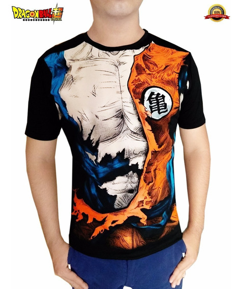 Playera Goku Dragon Ball Super Z De Moda Calidad Premium