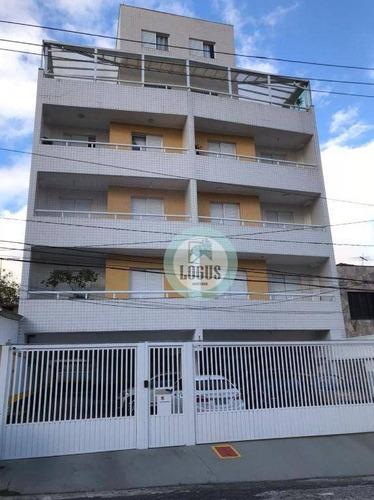 Imagem 1 de 11 de Apartamento Com 2 Dormitórios À Venda, 63 M² Por R$ 320.000,00 - Vila Euro - São Bernardo Do Campo/sp - Ap1830