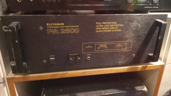 Amplificador Cygnus Pa2800