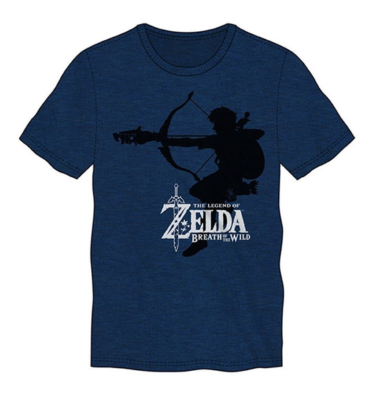 Playera Camiseta Colección The Legend Of Zelda Zcz Thinkgeek