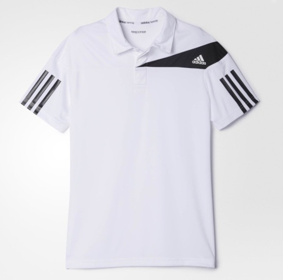 Polo Nik adidas Blanco C00213 Outlet