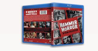 Hammer Horror 8 Film Collection - Bluray Coleccion Completa