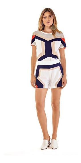 Shorts Feminino Evase Morena Rosa Ref 107206