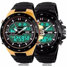 Relógio Masculino Esporte 50m Resistente A Água 1016