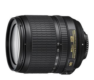 Lente Nikon Af-s Dx 18-105mm F/3.5-5.6 G Vr Teleobjetivo Fac