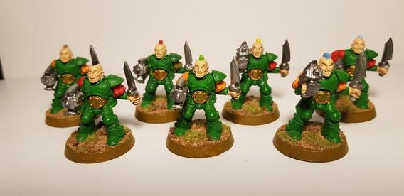 Warhammer 40k Scout Squad Dark Angels Space Marines Gw