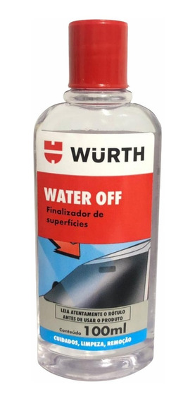 Water Off Wurth Cristalizador Para Brisa Vidros Box Viseira
