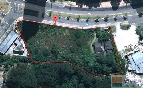 Imagem 1 de 13 de Terreno Com Área 6218 M²,otimo  Para Empreendimentos Comerciais E Residenciais Localizado Na Av Itap - Nm4729