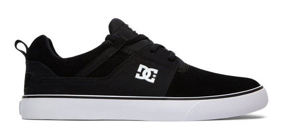 Zapatillas Dc Heathrow Vulc Negro Skate Hombre Originales
