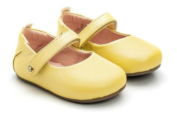 Sapatilha Boneca Gambo Baby Glitter Limonada