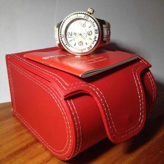 Reloj Swiss Legend Neptune Blanco Y Dorado, Sumergible