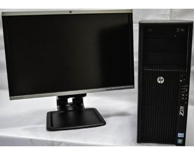 Kit Workstation Hp Z220 Xeon 16gb 500gb + Monitor 24 Fullhd