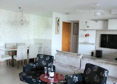 Vila Andrade Condomínio Actual Morumbi Lindo Apto. 95m² - 2 Suítes, Varanda Gourmet E 2 Vagas. - 75797