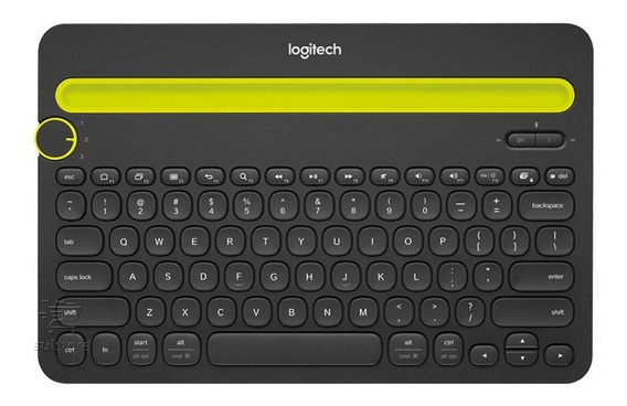 Teclado Bluetooth Logitech K480 Pc iPad Tablet Mac Android