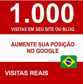 1.000 Visitas Trafego Do Brasil Para Sites E Blogs