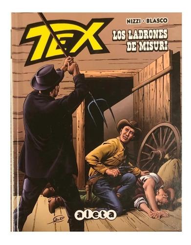 Imagen 1 de 3 de Tex - Los Ladrones De Misuri - Aleta Ed - Spaghetti Western