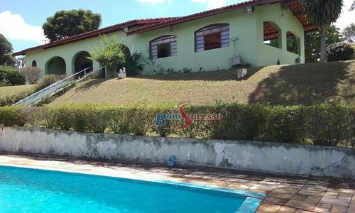 Imagem 1 de 30 de Chácara Com 3 Dormitórios À Venda, 22000 M² Por R$ 850.000,00 - Sítios Primavera  - Jarinu/sp - Ch0017