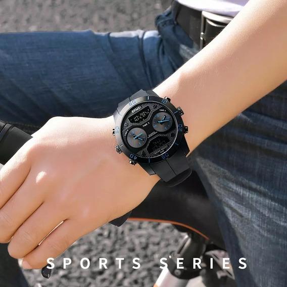 Relógio Masculino Skmei 1355 Com Caixinha Original