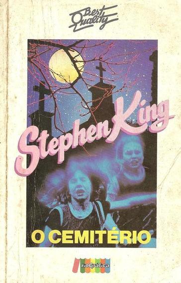 Livro Cemitério Stephen King Clássico Terror Pet Sematary