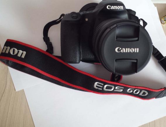 Camera Profissional Canon 60d. + Lente Canon 18/135mm