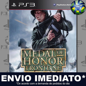 Medal Of Honor Frontline Ps3 Midia Digital Psn Envio Agora