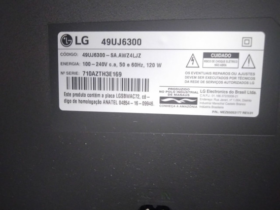 Smart Tv 4k Lg 49uj6300(tela Em Curto)