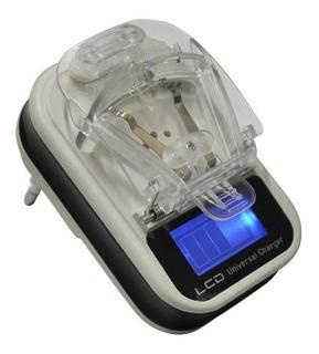 10 Carregador Universal Lcd Bateria Celular Marcas Disponive