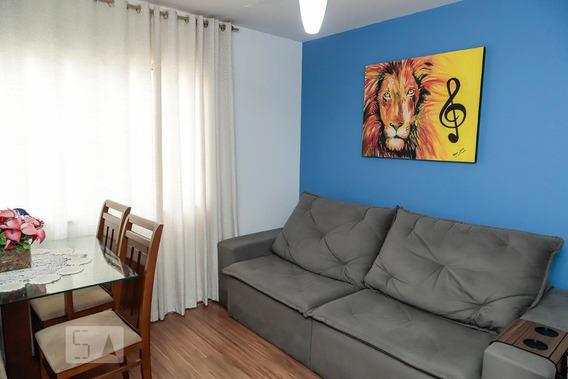 Apartamento No 2º Andar Com 2 Dormitórios E 1 Garagem - Id: 892947503 - 247503