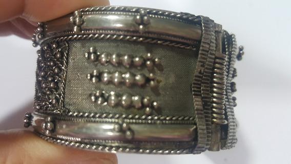 Bracelete Prata De Bali - 17 Cm