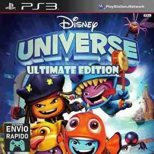Disney Universe Ultimate + Todas Dlcs - Jogos Ps3 Original