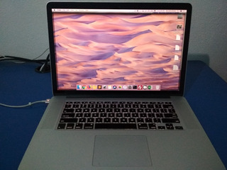 Macbook Pro Retina 15 I7 2.6 Ghz 500gb Ssd 16gb Ram