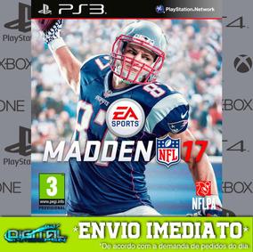 Madden Nfl 17 Ps3 Psn Game Digital Envio Agora.